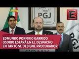 Rodolfo Ríos Garza deja la titularidad de la PGJCDMX