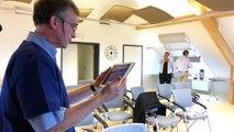 Nouveau: le diagnostic par webcam se pratique à la clinique de Saint-Vith
