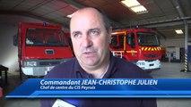 Alpes de Haute-Provence : un nouveau commandant promu à la caserne des sapeurs-pompiers de Peyruis