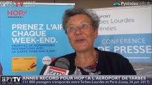 HPyTv Tarbes | Année record pour Hop à l'aéroport de Tarbes (26 juin 2017)