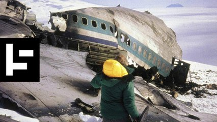 the disaster of flight 901 and its frozen crash site in antarctica