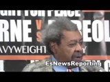 dan goossen says don king best promoter in boxing history EsNews Boxing