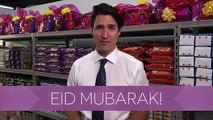 Kanada Başbakanının Bayram Kolisi Paketlemesi