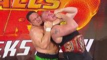 WWE Raw: June 26, 2017 - Samoa Joe Attacks Brock Lesnar - Dailymotion Full Match Samoa Joe Attacks Brock Lesnar