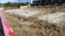 Dam collapse ¦¦ Water dam burst ¦¦ Dam water release ¦¦ Pressure ¦¦ Dam waterfall ¦¦ Crash Fails. (2)