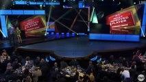 【NBA】Giannis Antetokounmpo Wins Most Improved Player Award  2017 NBA Awards