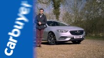 Vauxhall Insignia Grand Sport review (Opel Insignia) - James Batchelor - Carbu