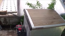 Homemade OFF-GRID Refrigerator uses two different cooling processes to keep my food fres