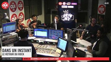 La radio OUI FM en direct vidéo /// La radio s'écoute aussi avec les yeux (3309)