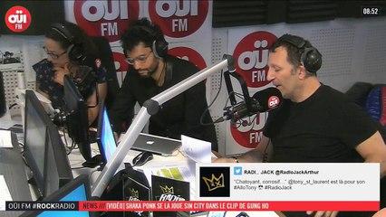 La radio OUI FM en direct vidéo /// La radio s'écoute aussi avec les yeux (3313)