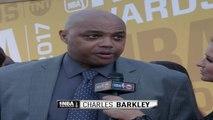 NBA Awards Red Carpet: Charles Barkley