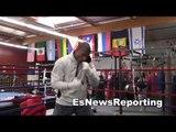 boxing star thomas dulorme in camp with robert garcia EsNews Boxing