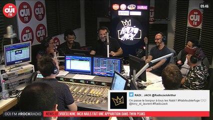 La radio OUI FM en direct vidéo /// La radio s'écoute aussi avec les yeux (3317)