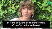 Taylor Swift envoie un message plein d'humour au meilleur joueur NBA