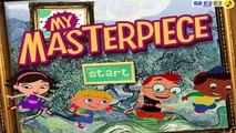 LITTLE EINSTEINS PLAYHOUSE DISNEY MY MASTERPIECE GAME INTRO DISNEY JUNIOR SHOW DVD MENU