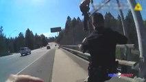 Deux policiers sauvent un homme suicidaire