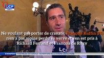 Sans cravate, François Ruffin taille un costard à François de Rugy