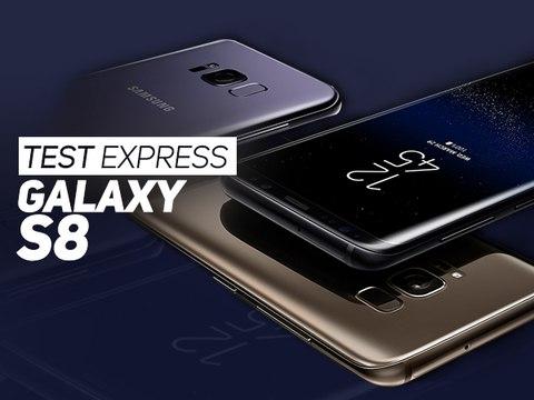 TEST EXPRESS : Le Samsung Galaxy S8 en 3 minutes - W38
