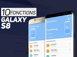 GALAXY S8 : 10 fonctions UTILES - W38