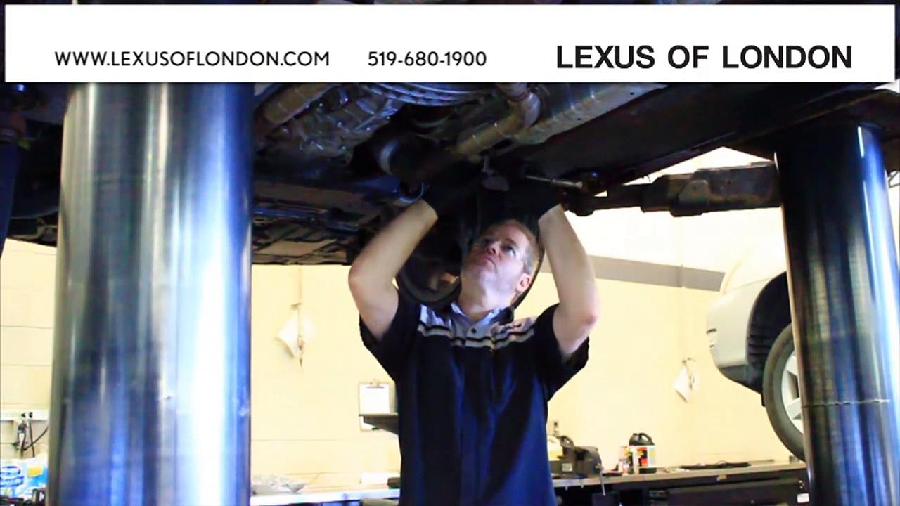 London, ON Lexus Oil Change | Lexus Maintenance