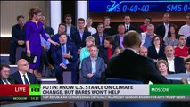 'We are ready to provide political asylum to Comey' - Putin at Q&A session