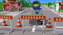 Learn Colors with Fast Racing Cars for Kids in Car Cartoon Video for Children!