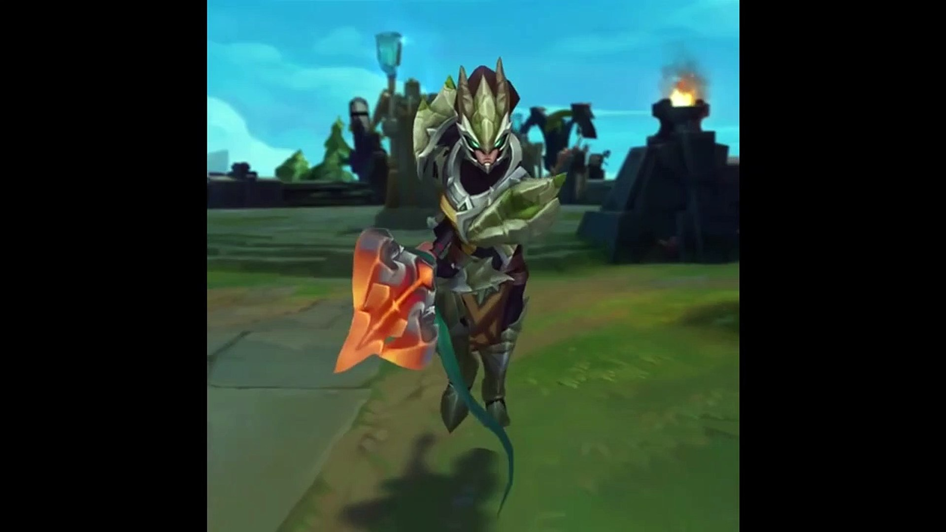Dragonslayer Xin Zhao and Dradfgrgon Sorceress Zyra Skin Preview _ Teaser - League of Legends-5_SMpi