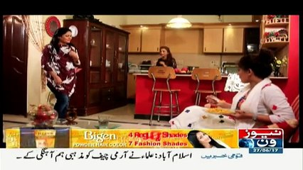 America Chaloo on News One - 27 June 2017