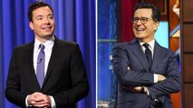 Fallon Overtakes Colbert in the Late Night Battle for Viewers | THR News