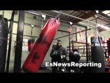boxing star thomas dulorme is a beast now with robert garcia EsNews Boxing