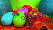 Et des œufs en vedette pour drôle enfants apprentissage arc en ciel jouets vidéos Surprise playlist surprise