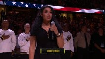 Jordin Sparks' National Anthem Before Game 4 of the NBA Finals