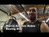 marco antonio rubio 55 wins 51 by KO where he gets power from EsNews Boxing