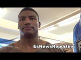 panama's israel duffus 6-0 6 KOs boxing star at goossen gym EsNews Boxing