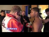 Devin Haney (18 years old) 16-0 11 kos Behind The Scenes Seconds Before His Fight