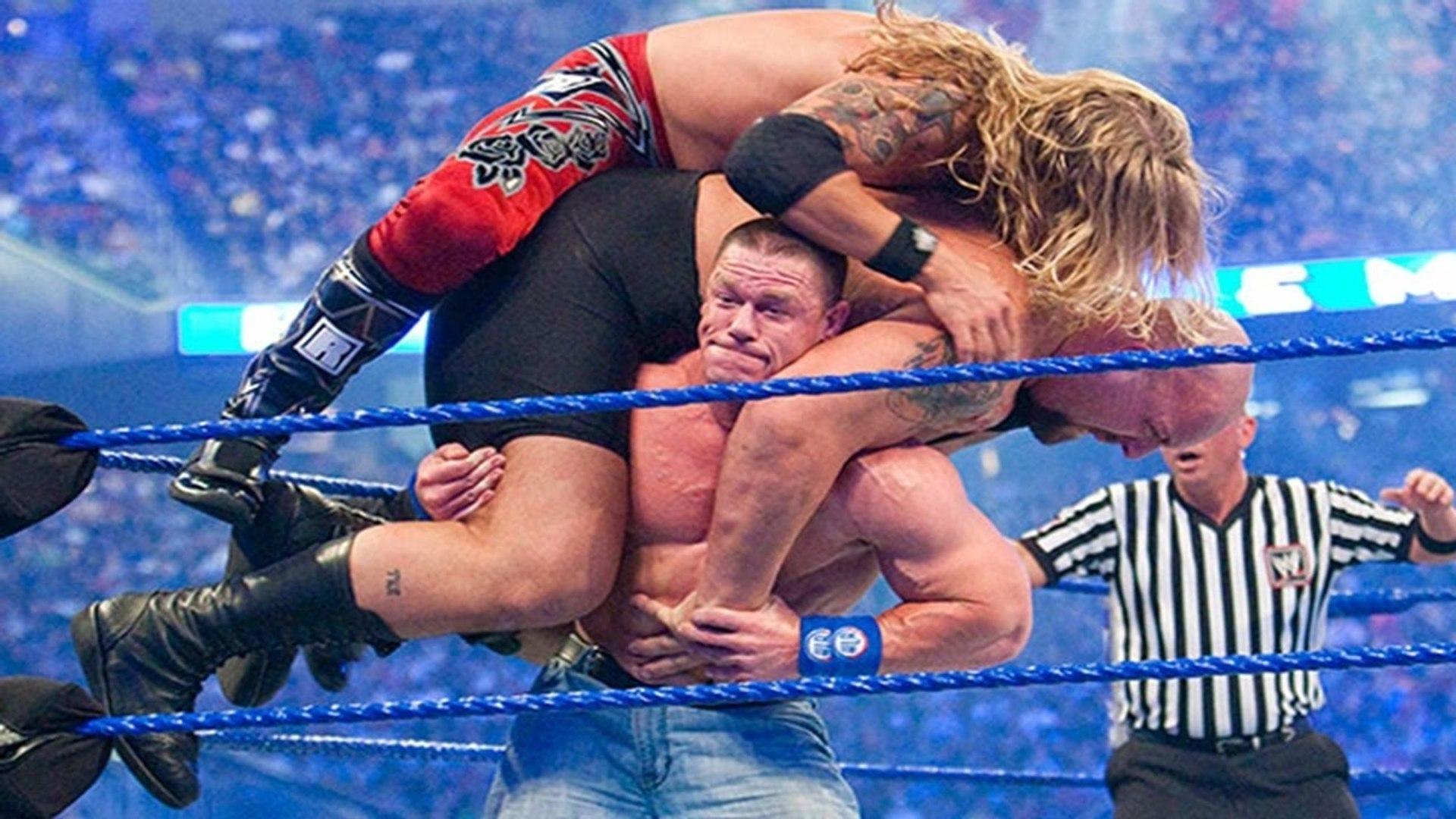 John Cena Vs Edge Vs Big Show - Wrestlemania 25 - Dailymotion Full Match - WWE - video Dailymotion