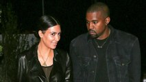 Kim Kardashian & Kanye West Spotted On A Romantic Date Night