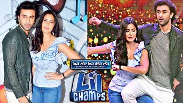 Ranbir Kapoor And Katrina Kaif Promote Jagga Jasoos On Sa Re Ga Ma Pa Lil Champs