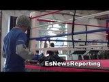 2 time gold winner Vasyl Lomachenko in camp for orlando salido EsNews Boxing