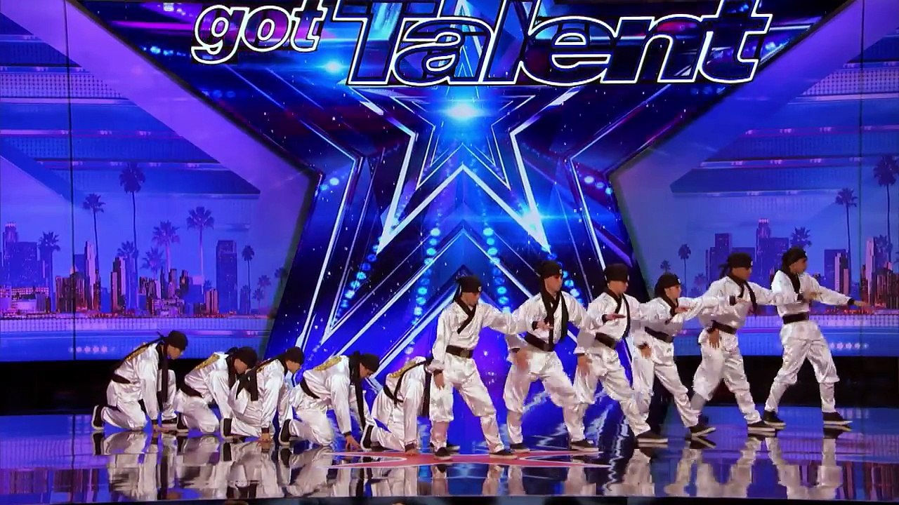 Just Jerk Dance Group Turns Out Seamless Performance Americas Got Talent 2017 Video Dailymotion