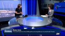 Etats-Unis: Donald Trump se félicite de la démission de trois journalistes de CNN