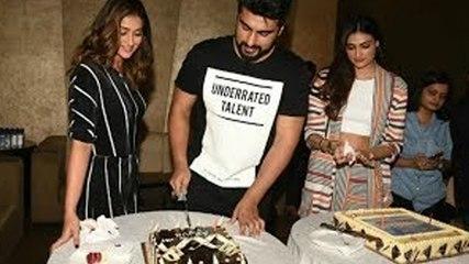 Arjun Kapoor's Birthday Celebration At The Launch Of 'Hawa Hawa' Song From Mubarakan