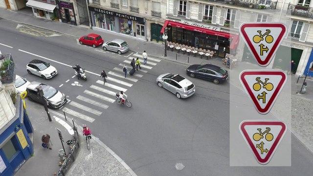 Feux rouges : faire confiance aux cyclistes !