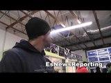 Vasyl Lomachenko vs Orlando Salido Vasyl in camp EsNews Boxing