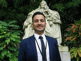 Maxime Minot à l'Assemblée Nationale