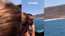 Mesut Özil ve Acun Ilıcalı'nın deniz sefası