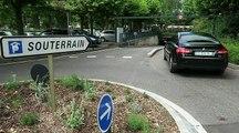 Parking de Bonlieu à Annecy : le sol s'épluche comme une patate trop cuite
