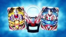 Ultraman X, Ultraman Orb, & Ultraman Geed Promotional Video Comparison