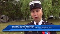 Hautes-Alpes : le Colonel Damien Demetz officiellement à la tête du groupement de la gendarmerie