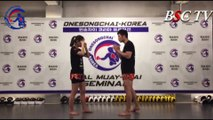 [MuayThai Lecture] #30 Away the Punch - Inside-Kick